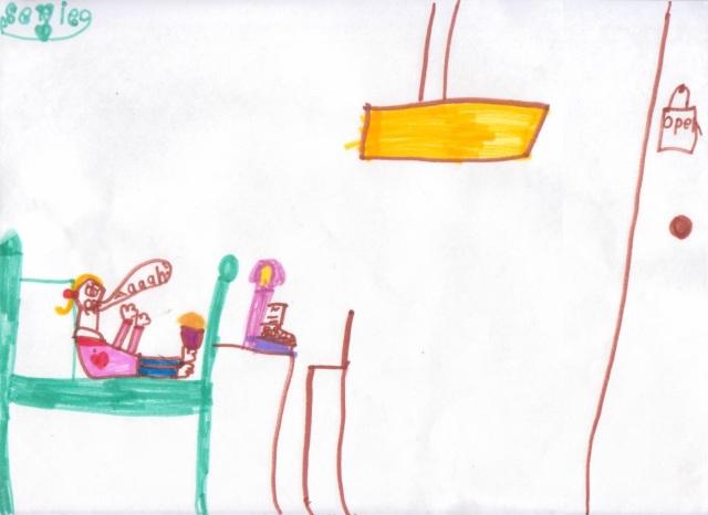 Sevie, age 6
